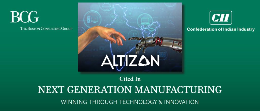 Altizon Cited in BCG's Next Generation Manufacturing Report 2017