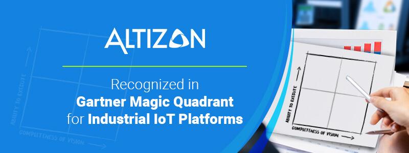 Altizon Recognized in Gartner's Magic Quadrant for IIoT Platforms